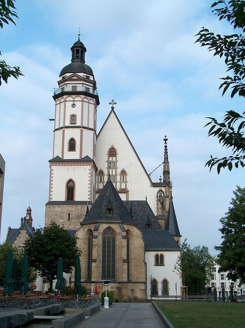 Bach's Church: St. Thomas Church, Leipzig, Germany